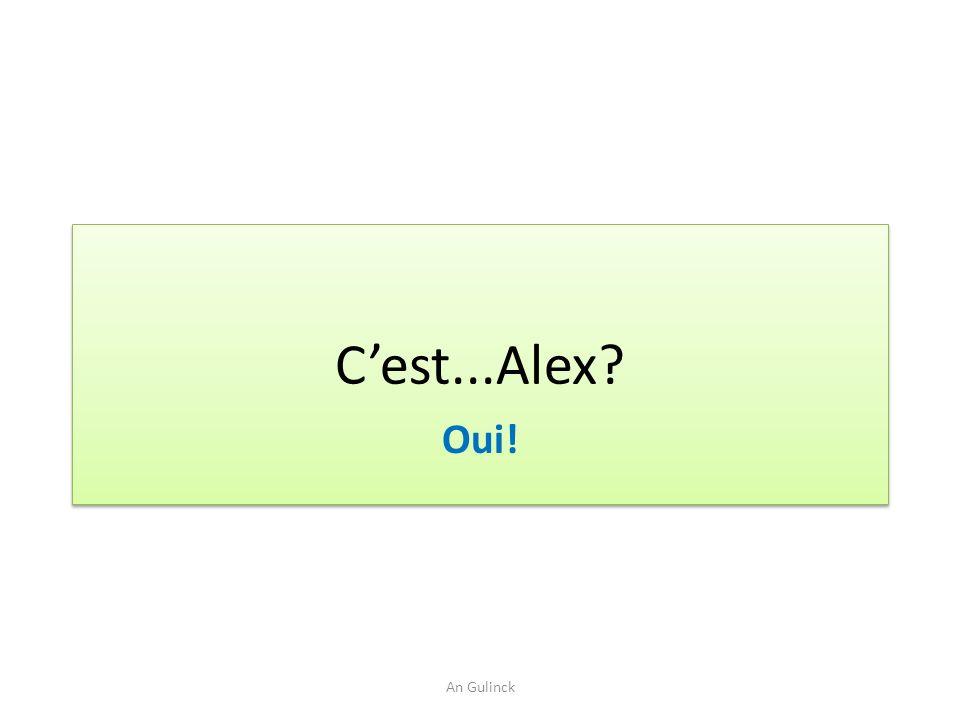 Cest...Alex? Oui! An Gulinck
