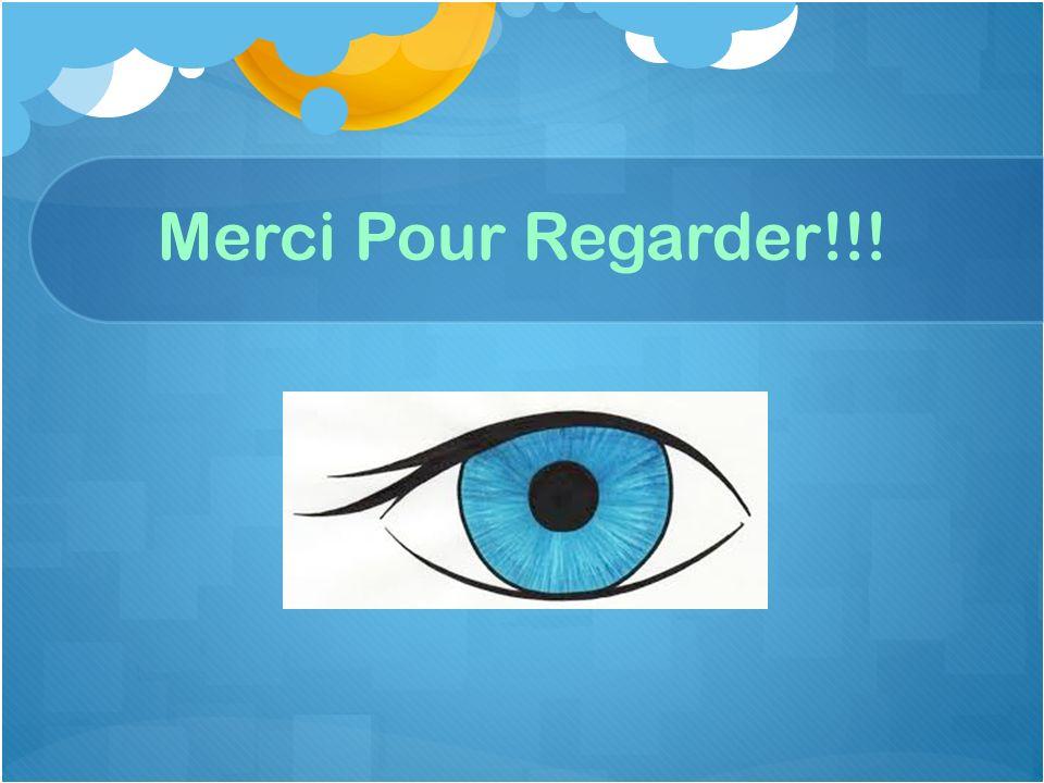 Merci Pour Regarder!!!