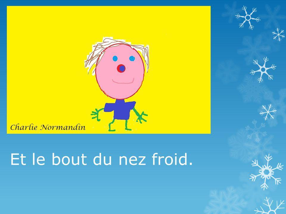 Et le bout du nez froid. Charlie Normandin