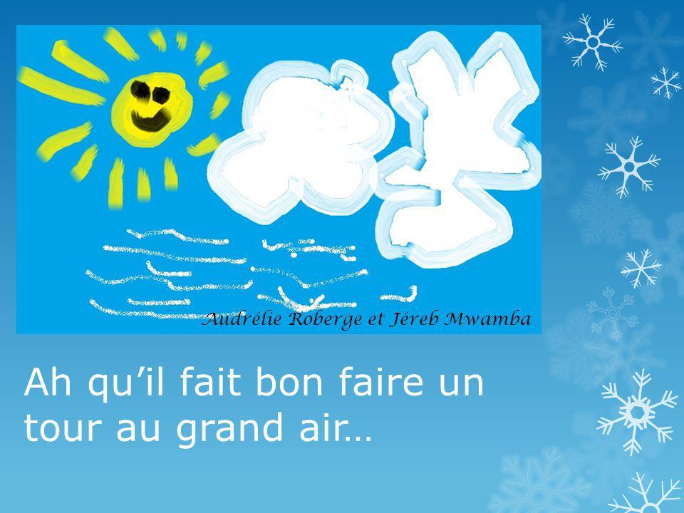 Mais le ciel est bleu... Jonathan Godin