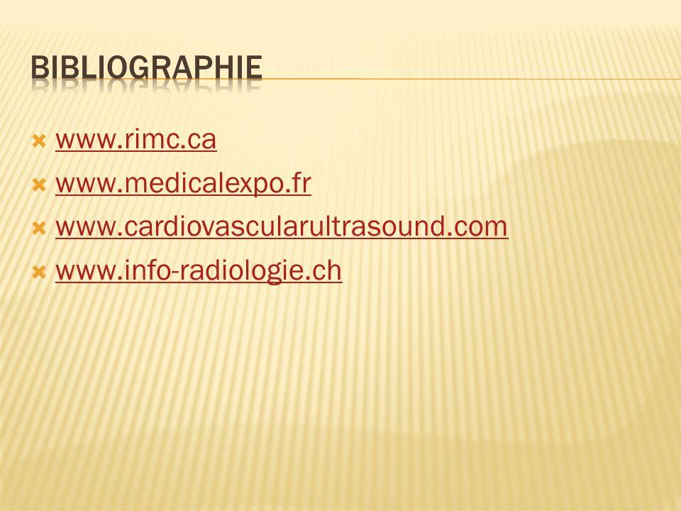 www.rimc.ca www.medicalexpo.fr www.cardiovascularultrasound.com www.info-radiologie.ch