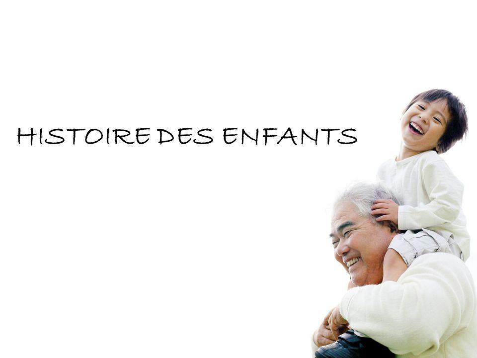 HISTOIRE DES ENFANTS