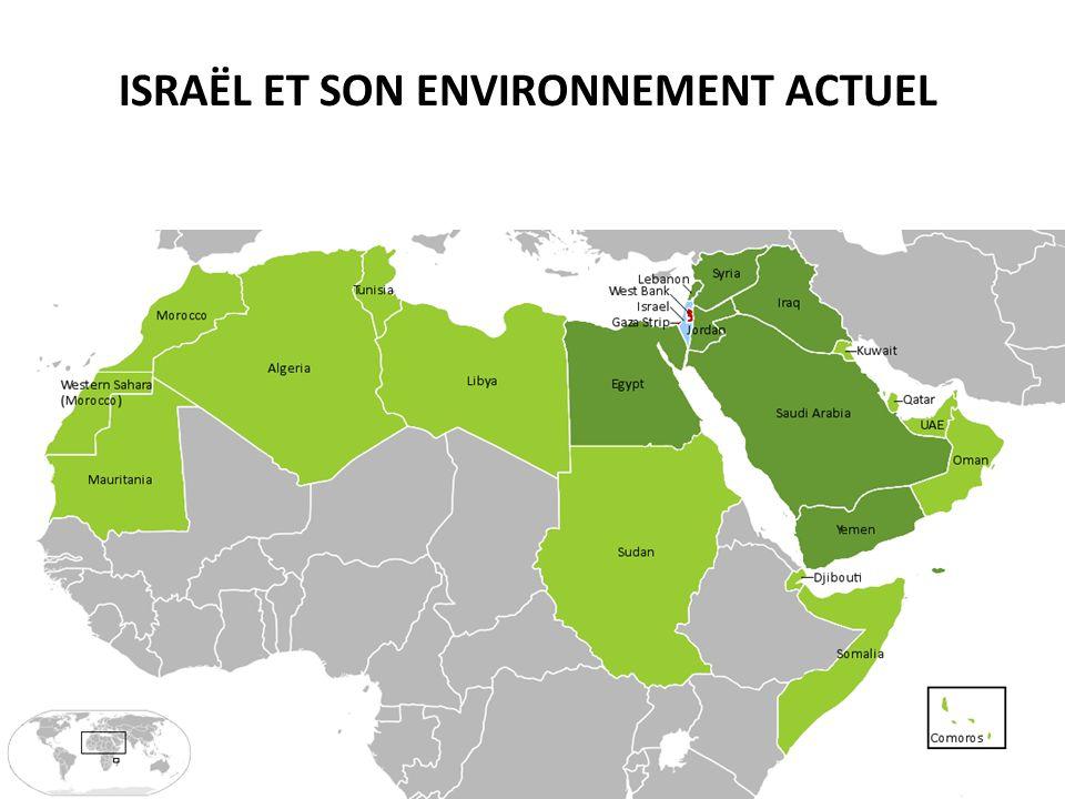 ISRAËL ET SON ENVIRONNEMENT ACTUEL