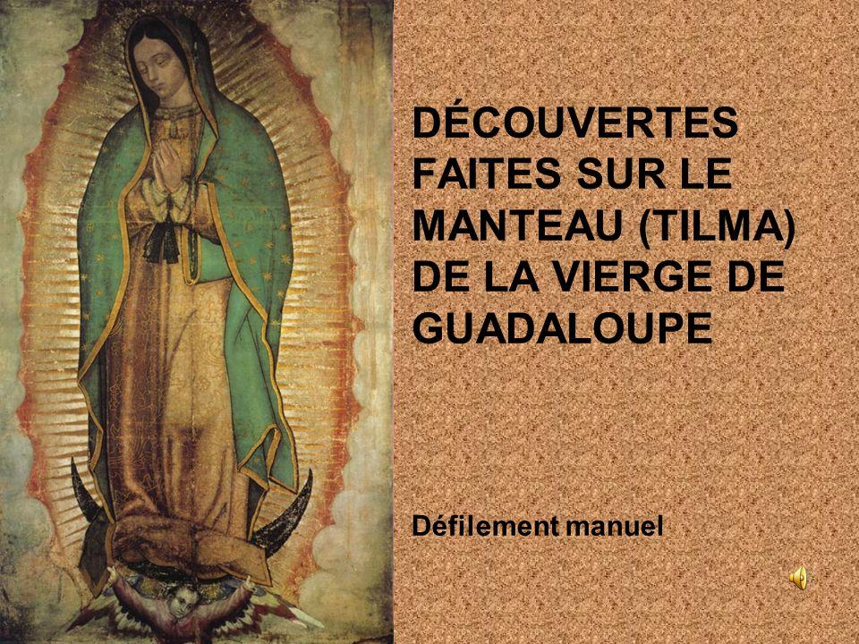 DÉCOUVERTES FAITES SUR LE MANTEAU (TILMA) DE LA VIERGE DE GUADALOUPE Défilement manuel
