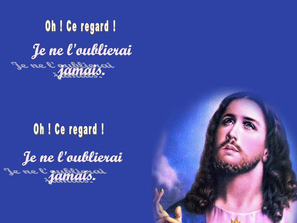 On était deux amis, Jean et puis moi André Cétait quatre heures du soir au mois de février. On suivait en curieux Jésus qui sen allait. Quand il sest