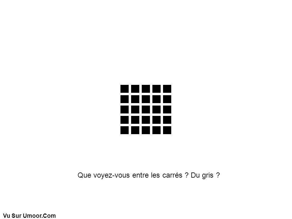 Vu Sur Umoor.Com Que voyez-vous entre les carrés ? Du gris ?