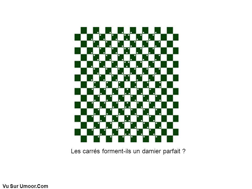 Vu Sur Umoor.Com Les carrés forment-ils un damier parfait ?