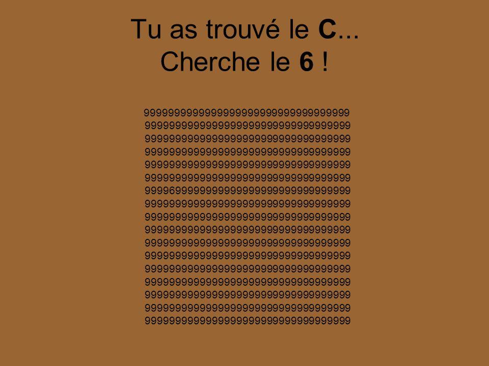 Peux tu trouver le C ??.