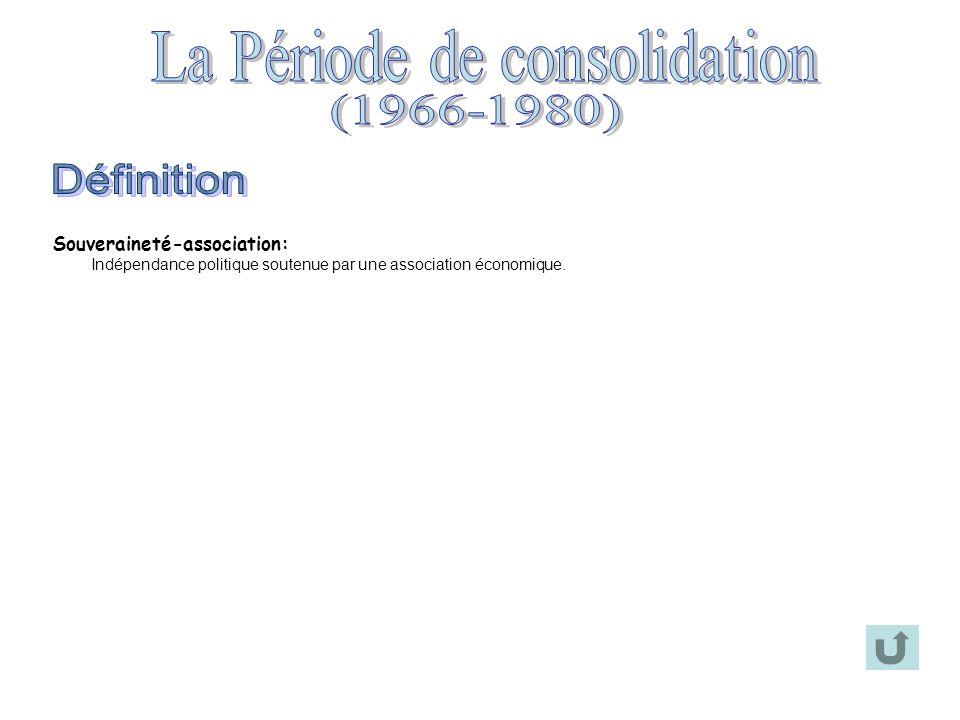 GouvernementRéalisations Union nationale (1967-1970) Daniel Johnson Jean-Jacques Bertrand Création des CEGEP en 1967 Fondation du réseau de lUniversité du Québec en 1969 Inauguration de Radio-Québec (Télé-Québec) en 1969 Inauguration de la Bibliothèque nationale de Québec en 1969 Projet de Loi 63 (les parents choisissent la langue denseignement de leur enfant) Parti libéral (1970-1976) Robert Bourassa Instauration du Régime dassurance-maladie en 1970 Inauguration des CLSC en 1970 Formation dun Front commun syndical (FTQ, CSN, CEQ) en 1972 Projet de Loi 22 (seuls les élèves qui maîtrisent suffisamment la langue anglaise peuvent être éduqués en anglais) Signature de la Convention de la Baie-James en 1975 Parti québécois (1976-1985) René Lévesque Pierre-Marc Johnson Charte de la langue française en 1977 (Loi 101: le français, langue de travail et daffichage, est la seule langue officielle du Québec) Loi de lassurance automobile Loi sur le financement des partis politiques en 1977 Loi sur la protection du territoire agricole en 1978 Loi contre les briseurs de grève