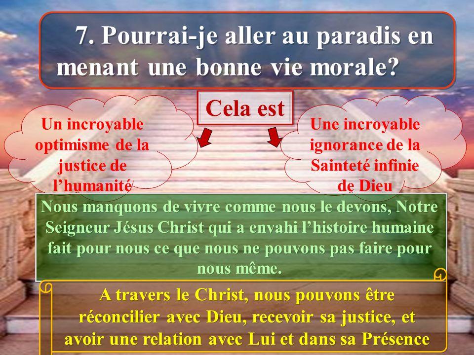 Un incroyable optimisme de la justice de lhumanité Une incroyable ignorance de la Sainteté infinie de Dieu Nous manquons de vivre comme nous le devons