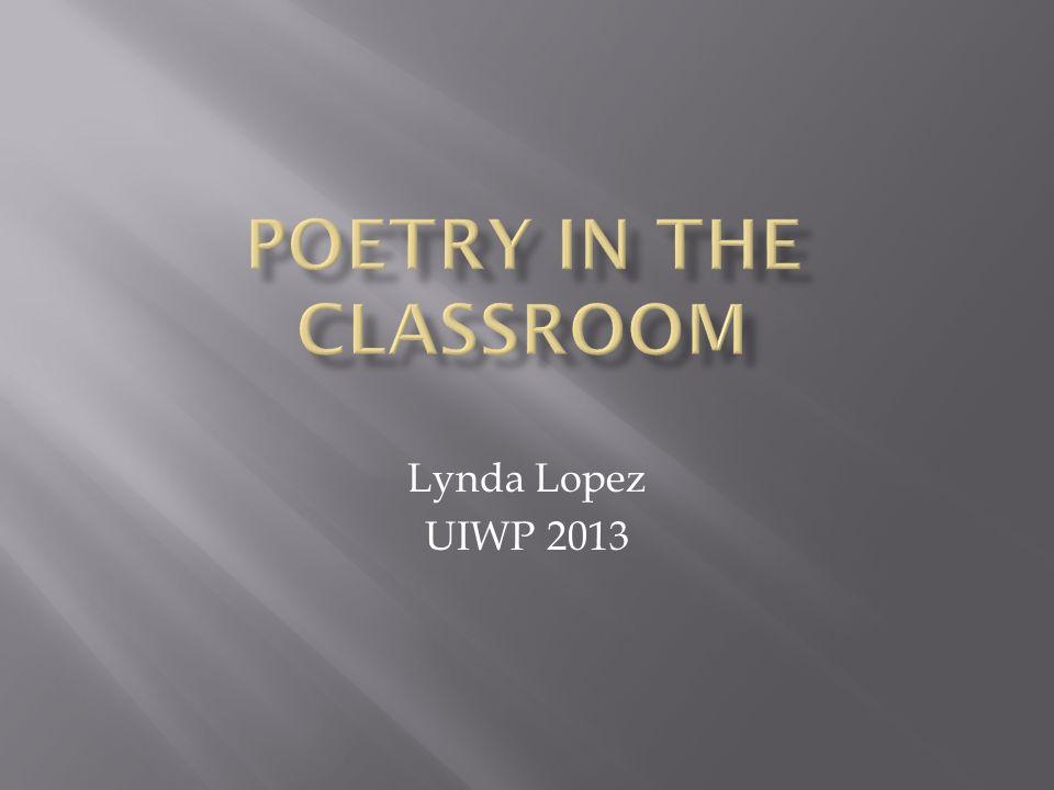 Lynda Lopez UIWP 2013