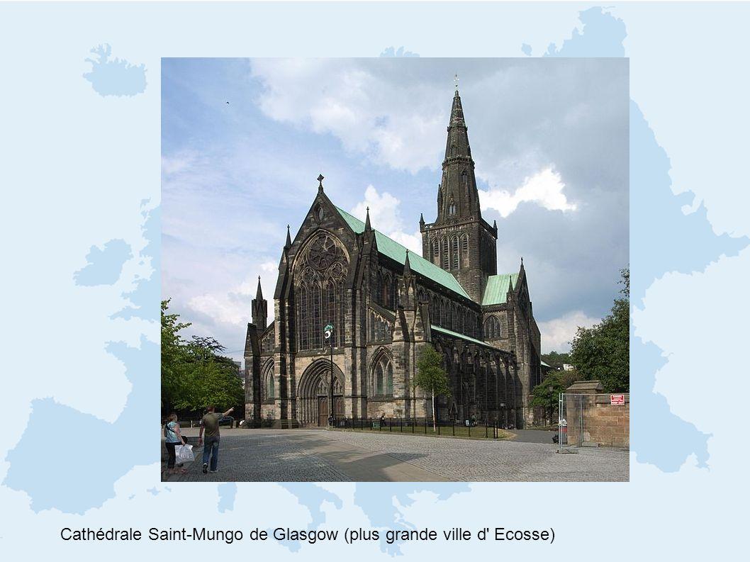 Cathédrale Saint-Mungo de Glasgow (plus grande ville d' Ecosse)