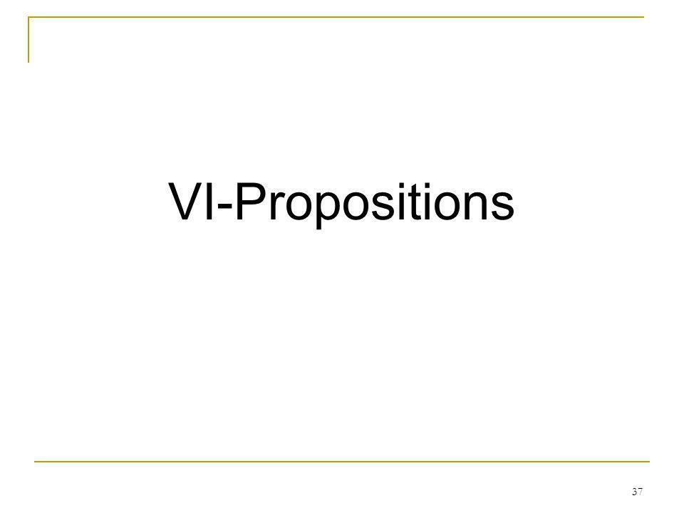 37 VI-Propositions