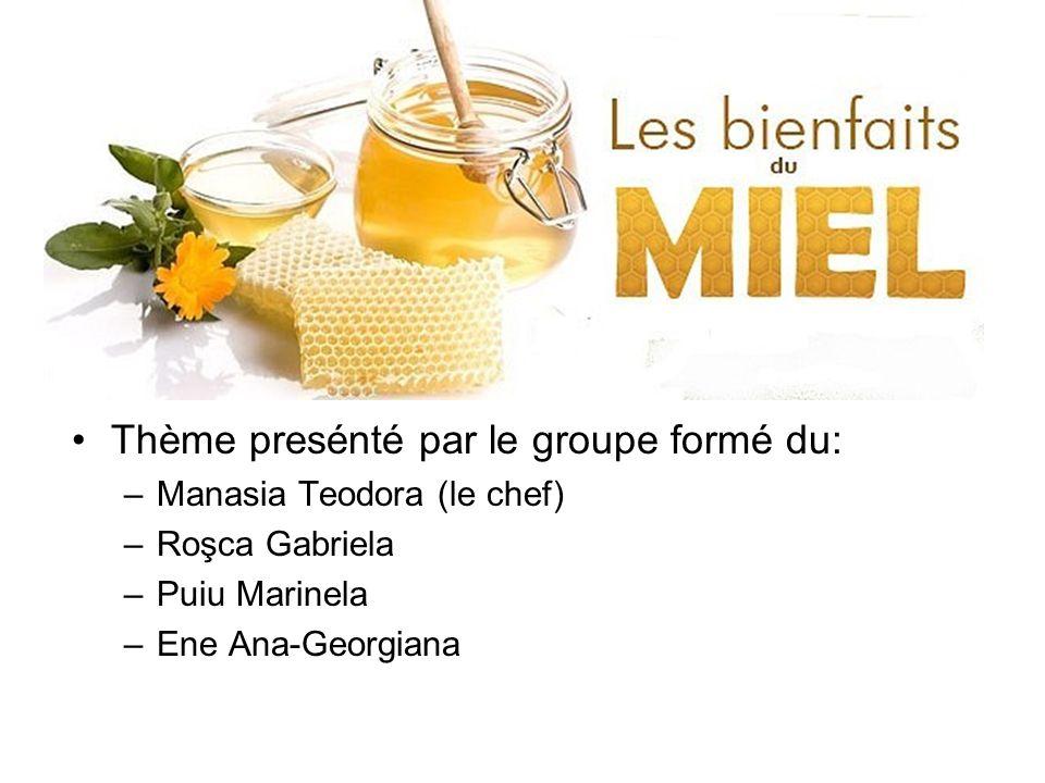 Les Sous-thèmes abordés Le miel ou le sucre.