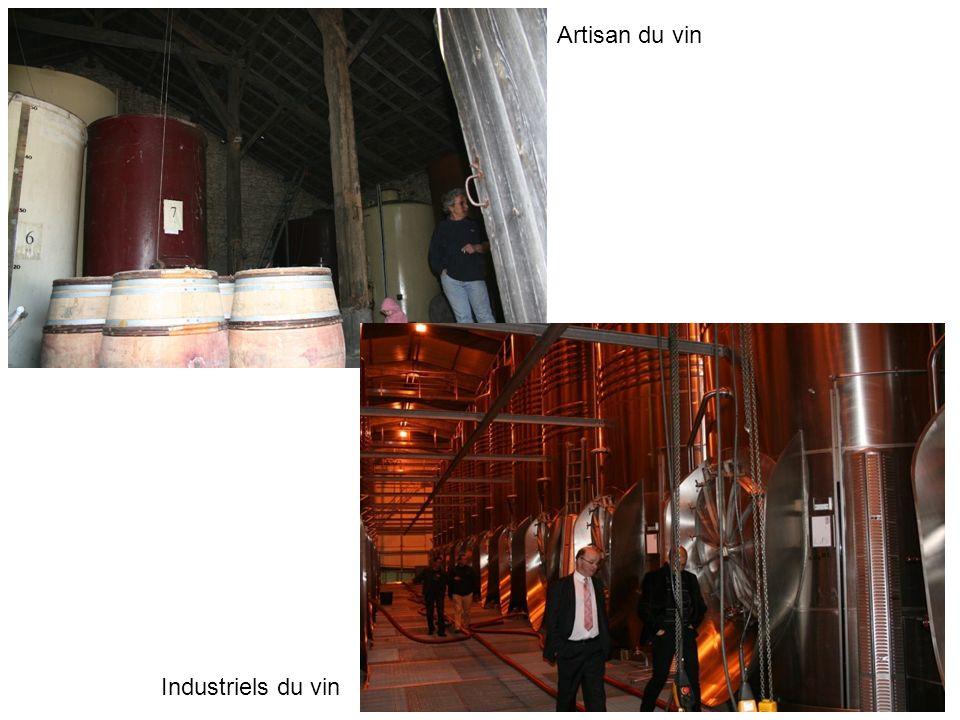 Artisan du vin Industriels du vin