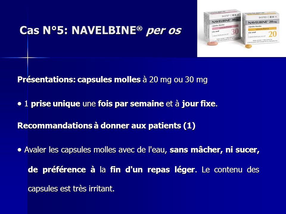 Présentations: capsules molles à 20 mg ou 30 mg 1 prise unique une fois par semaine et à jour fixe. 1 prise unique une fois par semaine et à jour fixe