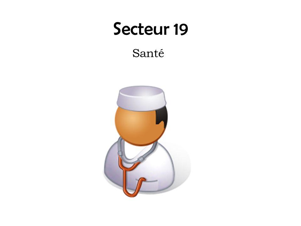 Secteur 19 Santé
