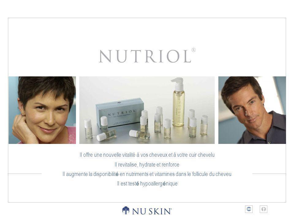 Il offre une nouvelle vitalité à vos cheveux et à votre cuir chevelu Il revitalise, hydrate et renforce Il augmente la disponibilit é en nutriments et