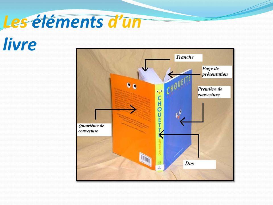 Les éléments dun livre