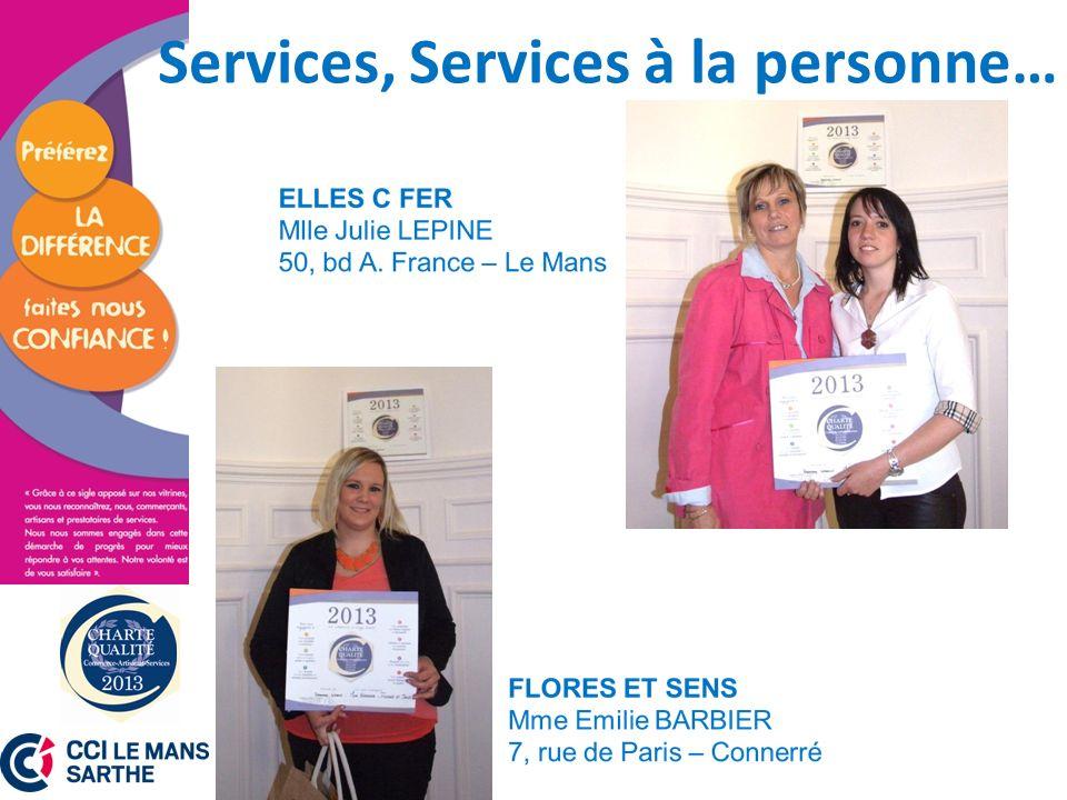 Services, Services à la personne…