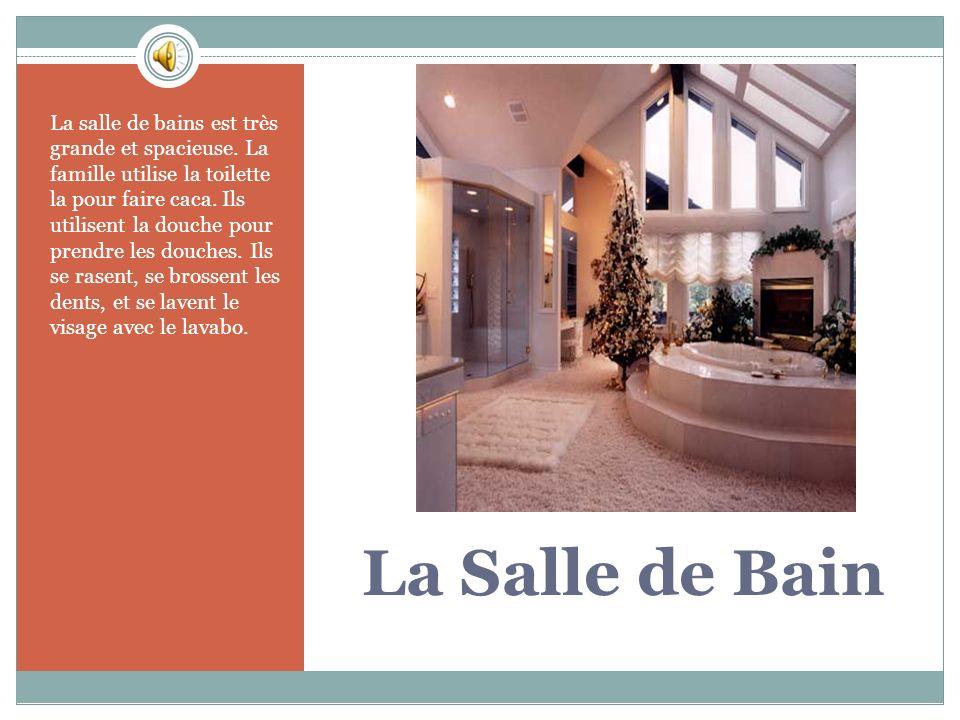 La Salle de Bain La salle de bains est très grande et spacieuse.