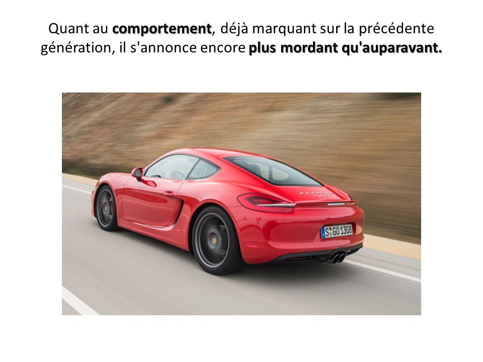 0 à 100 km/h en 4,9 svoire 4,7 s vitesse de pointe de 283 km/h Mais ce petit coupé n a vraiment pas à rougir de ses performances : sa variante la plus musclée promet un 0 à 100 km/h en 4,9 s, voire 4,7 s avec la transmission à double embrayage PDK, et une vitesse de pointe de 283 km/h (281 km/h avec la PDK).