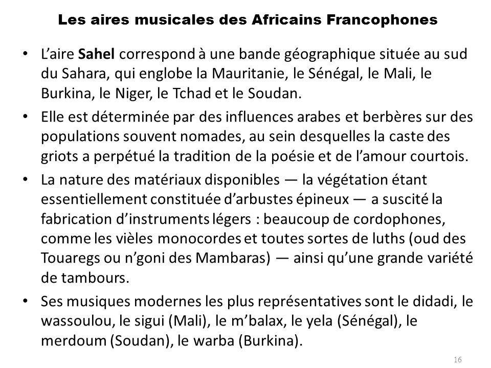 Instrument: Le Djembé Le djembé, grand tambour à calice est taillé dans une unique pièce de bois et tendu d une peau de chèvre, vient de Guinée.
