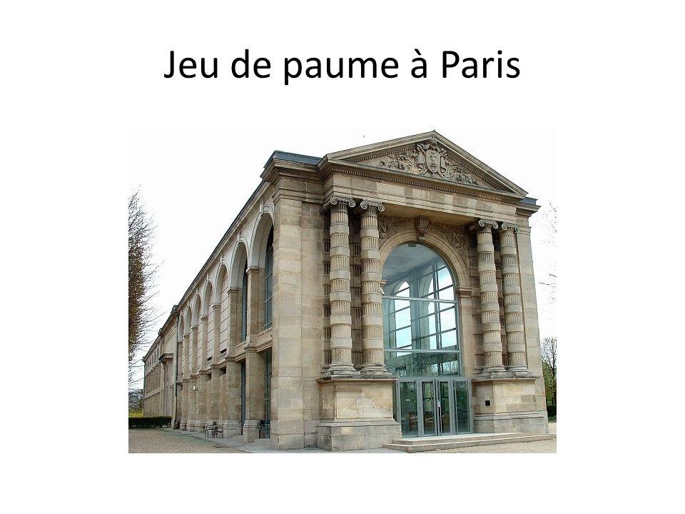 Jeu de paume à Paris