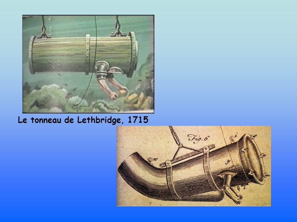 Le tonneau de Lethbridge, 1715