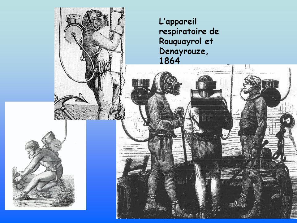 Lappareil respiratoire de Rouquayrol et Denayrouze, 1864