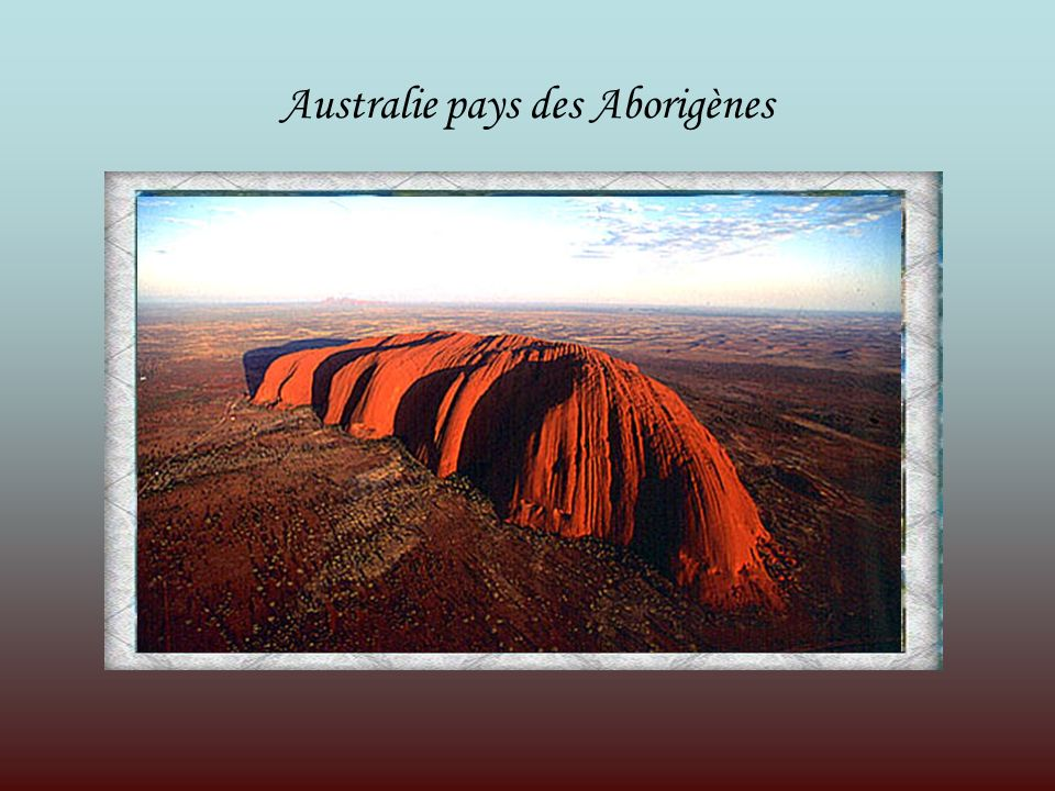 Le pays de l Australie possède une culture riche et diverse.
