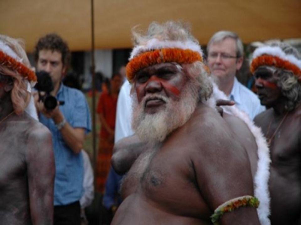 Aujourd'hui, bien qu'elle ne représente plus que 2% de la population australienne (environ 400 000 individus), la culture aborigène représente une sou