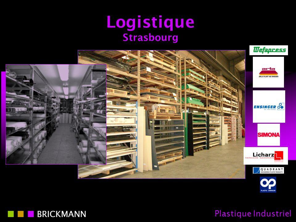 Logistique Strasbourg BRICKMANN Plastique Industriel