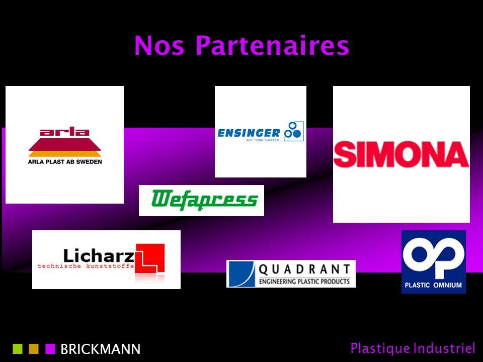 Nos Partenaires BRICKMANN Plastique Industriel