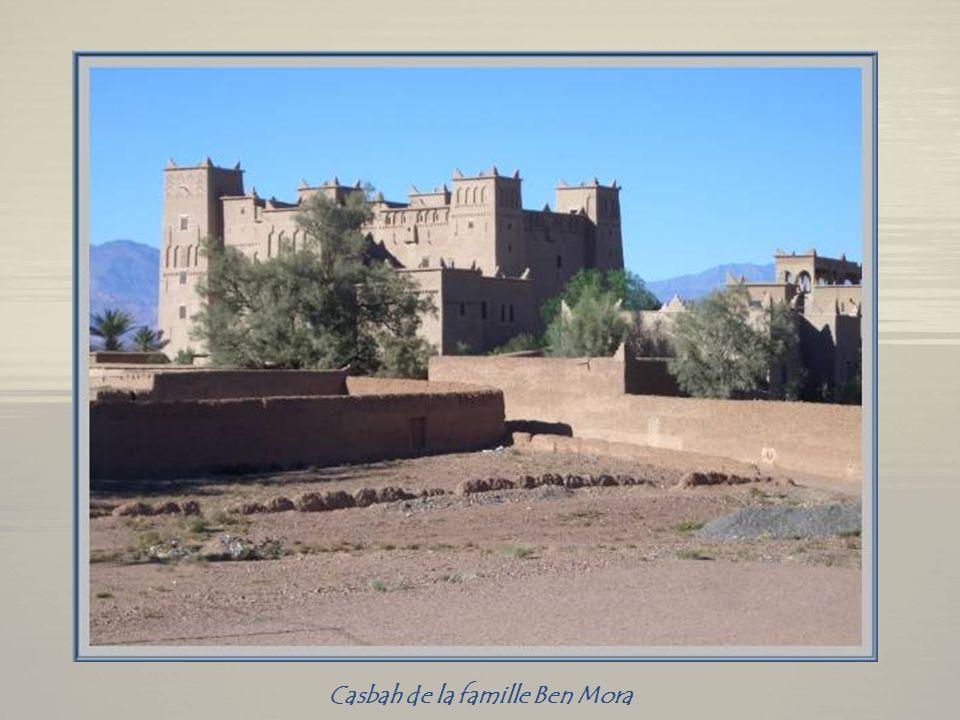 Image bien évocatrice du sud marocain!