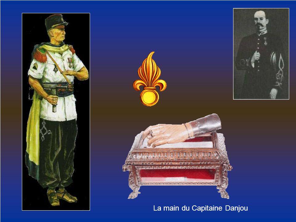 La main du Capitaine Danjou