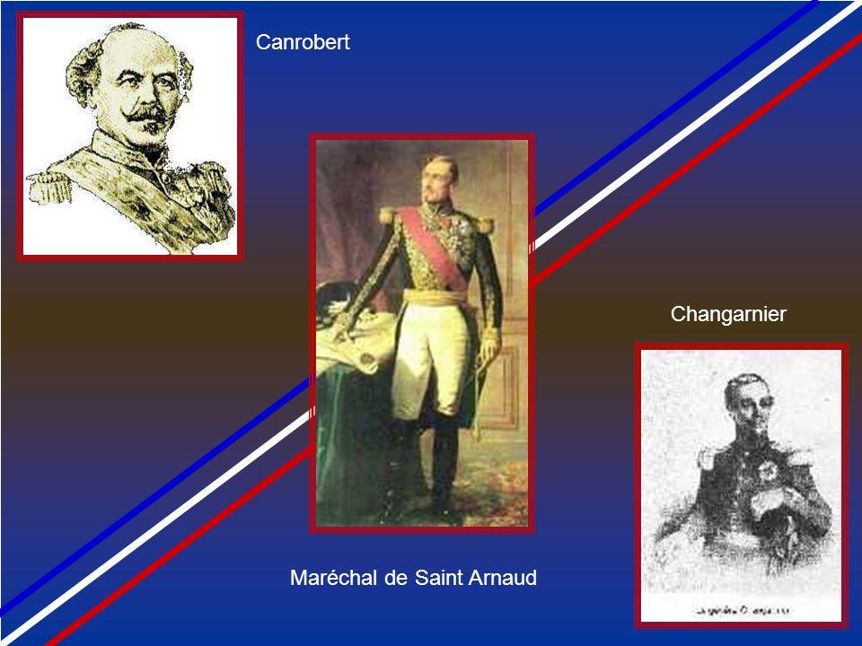 i Canrobert Changarnier Maréchal de Saint Arnaud