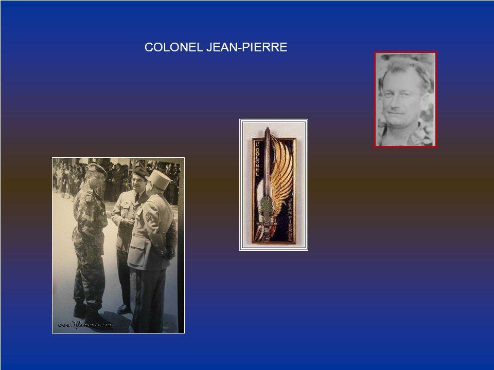 COLONEL JEAN-PIERRE