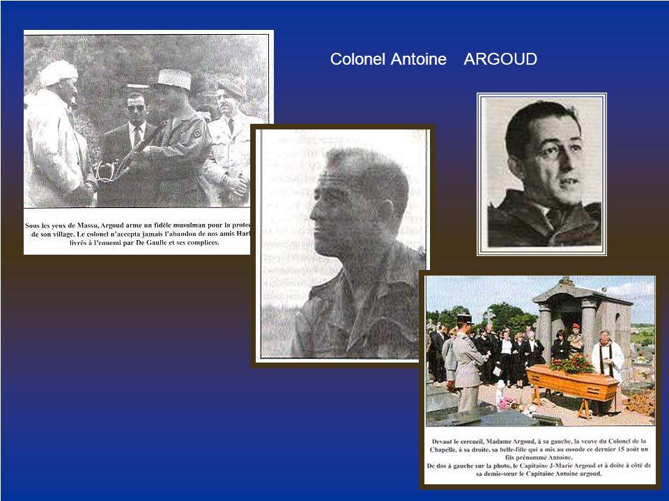 Colonel Antoine ARGOUD