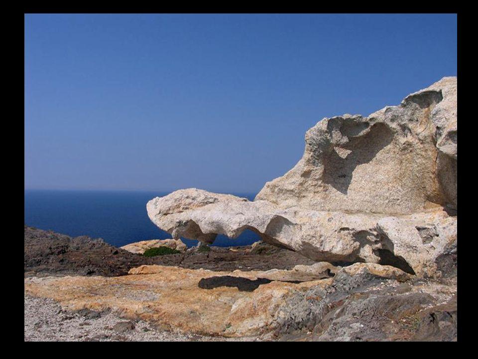 À la fin de la presqu'île appelée Cap de Creus, soudée au continent et les montagnes de Rhodes, en collaboration avec la gamme Albera, l'une des termi