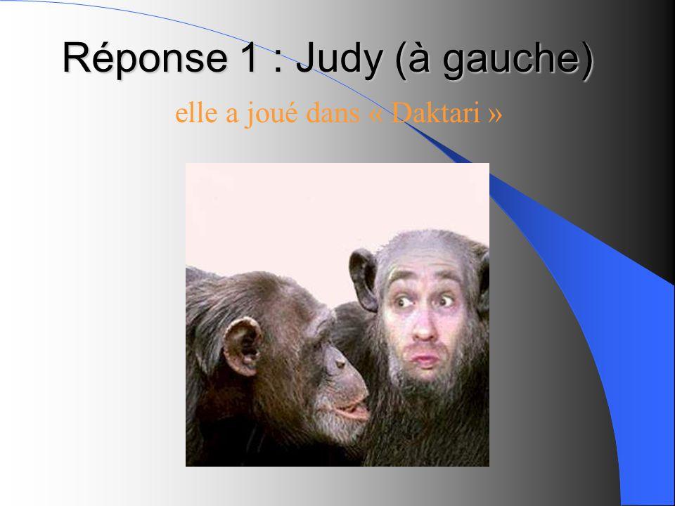 Dans quelles séries ont joué ces deux singes ?