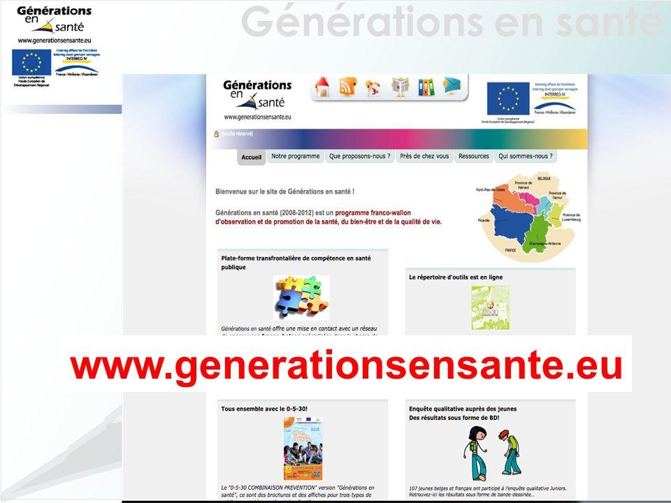 Générations en santé 34 www.generationsensante.eu