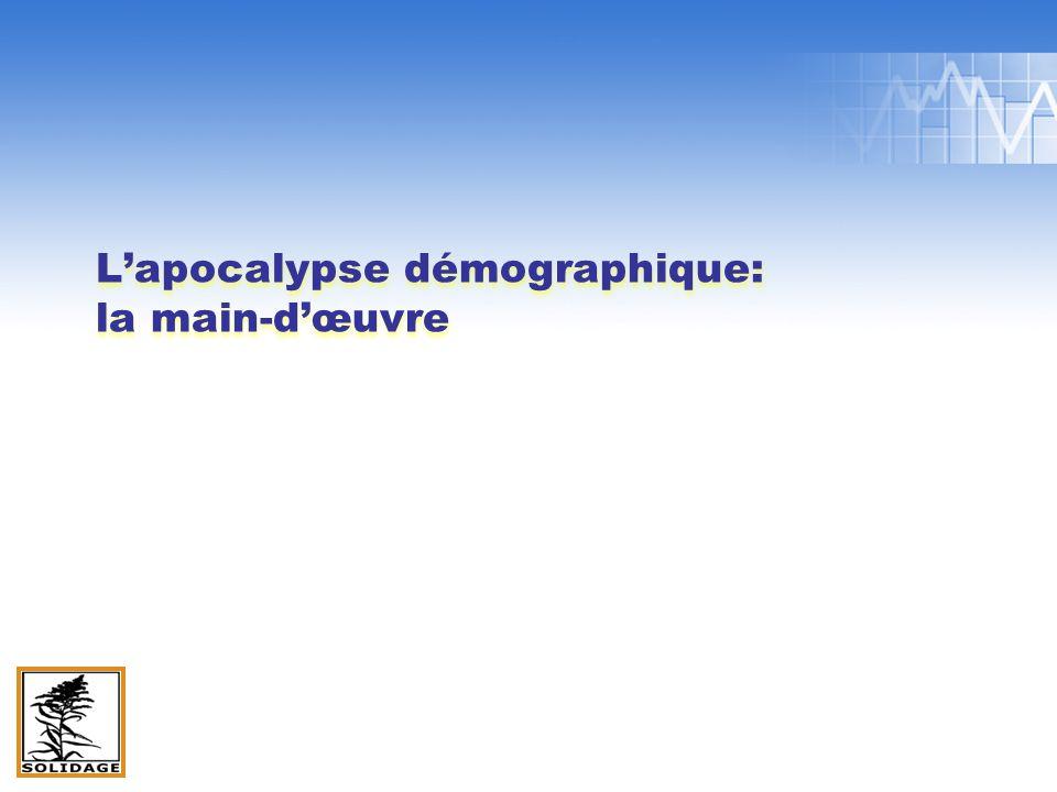 Lapocalypse démographique: la main-dœuvre
