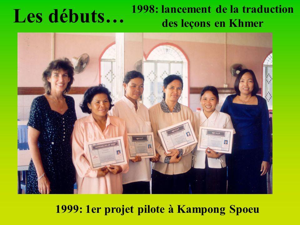 Depuis 1995 au Cambodge, des missionnaires ADD (France, USA, Philippines) développent un nouveau programme Evangélisation et Santé