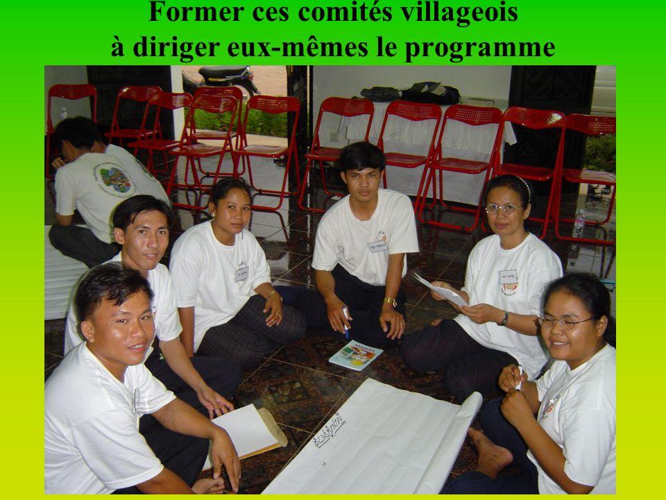 Faciliter des élections équitables de CDV (Comité de Développement Villageois)