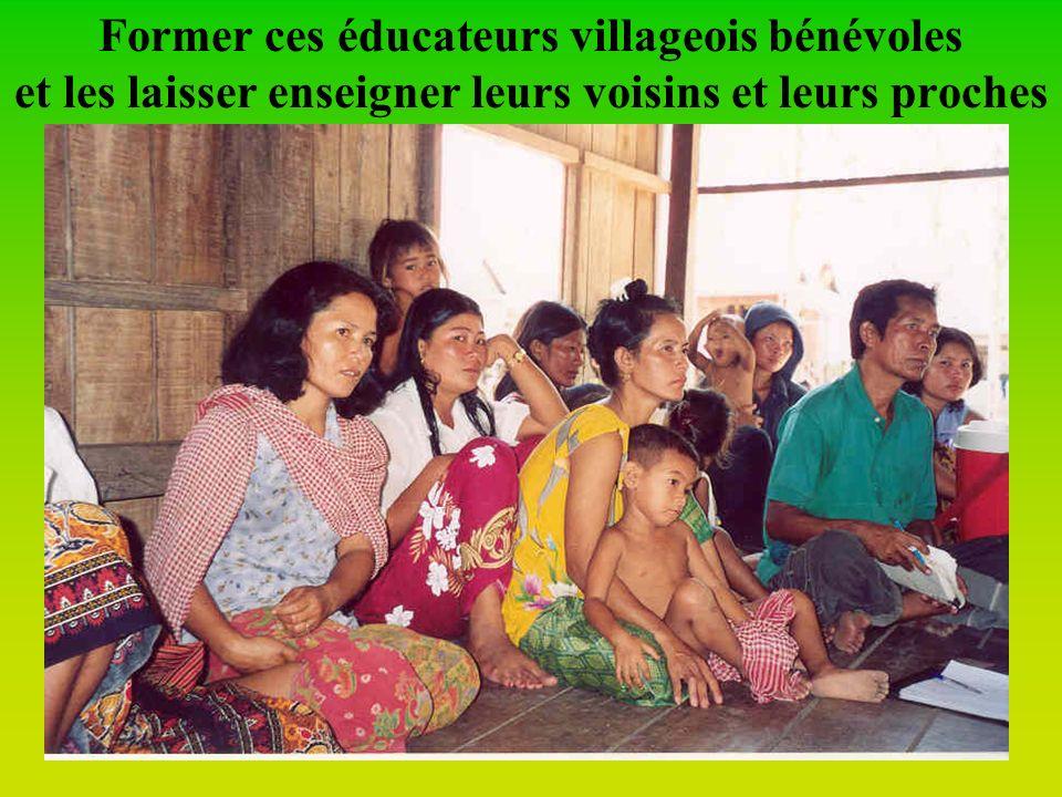 Motiver dautres villageois au rôle de E.S.C. (Educateurs Santé Communauté)