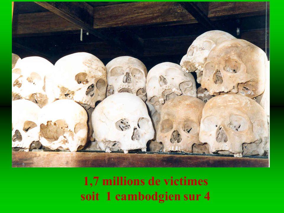 En 1980, après 4 ans de tyrannie sous Pol Pot et les Khmers Rouges, tout espoir de vie fut anéanti
