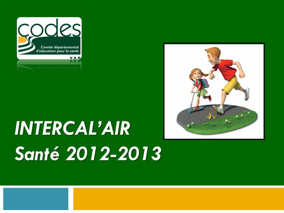 INTERCALAIR 2/ Axe 1 : Formation/Action Création et animation par les professionnels relais de la structure dateliers déducation à la santé en direction des jeunes accueillis.