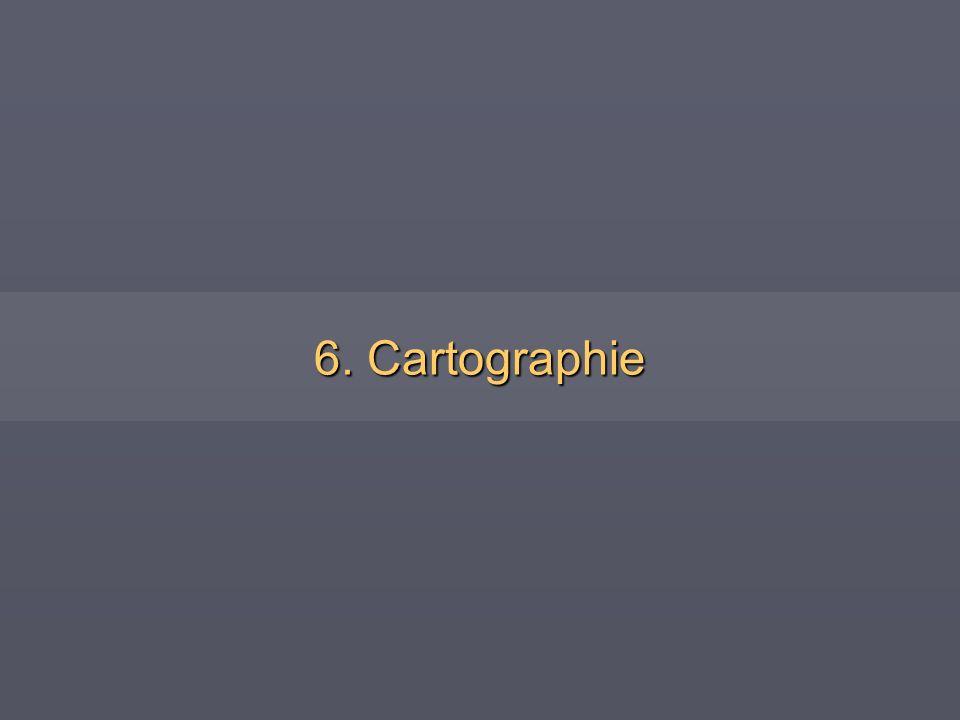 6. Cartographie