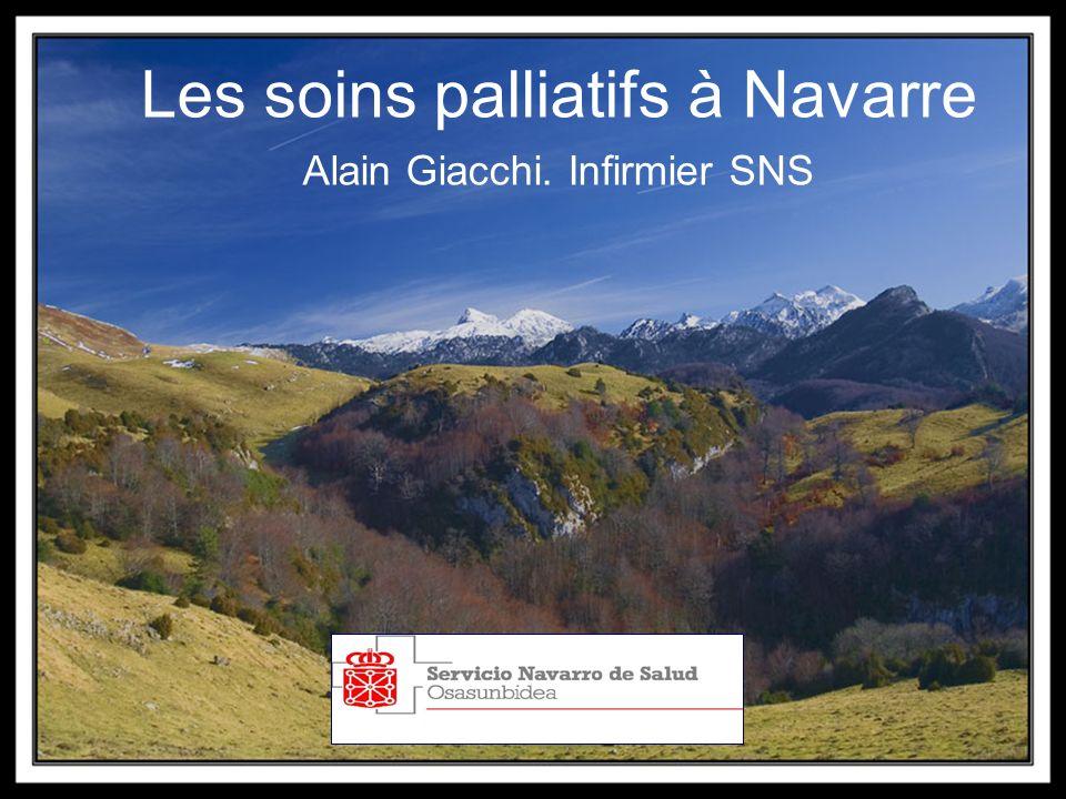Les soins palliatifs à Navarre Alain Giacchi. Infirmier SNS
